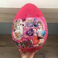 Детский набор для творчества Unicorn Wow Box Danko Toys яйцо сюрприз единорог девочек детей подарочный розовый, фото 3