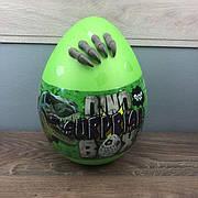 Детский набор для творчества Dino Surprise Box Danko Toys яйцо сюрприз мальчиков детей игровой зеленое