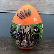 Детский набор для творчества Dino Surprise Box Danko Toys яйцо сюрприз мальчиков детей игровой оранжевое