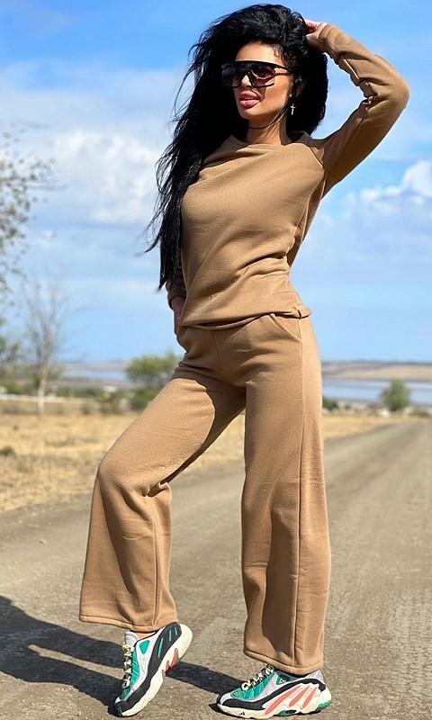 Спортивный костюм 830805/3 50/52 коричневый
