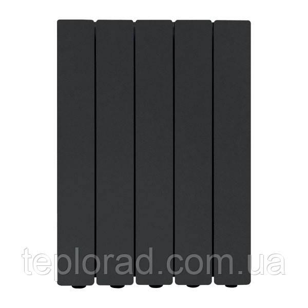 Алюмінієвий радіатор Fondital Blitz Super B4 Black Coffee 500/100 чорний 12 секцій