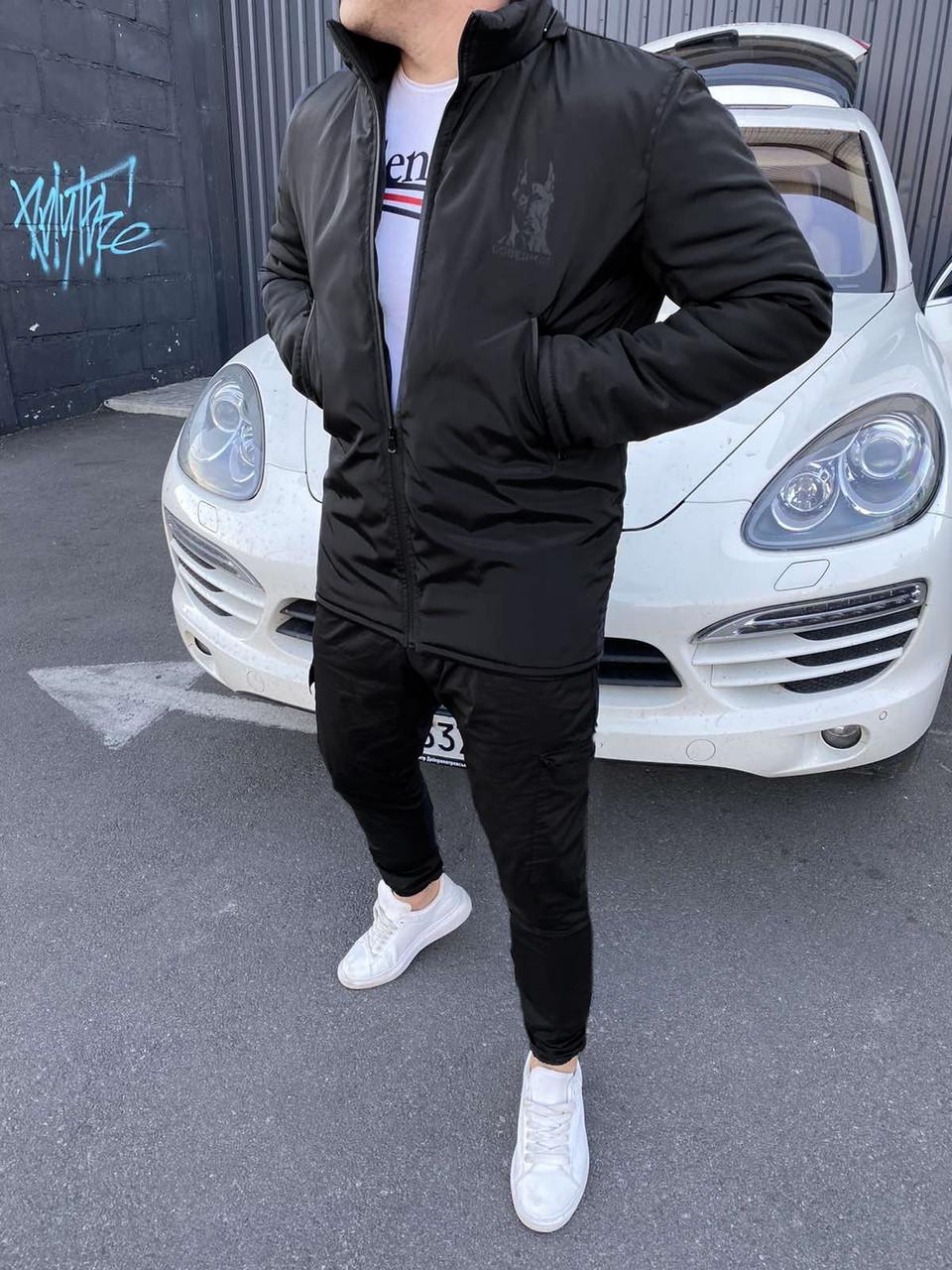 Куртка зимняя DOBERMAN мужская брендовая осень весна копия реплика