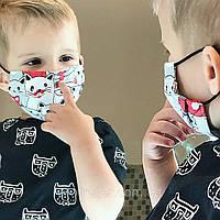Маска Детская защитная трехслойная с мембраной