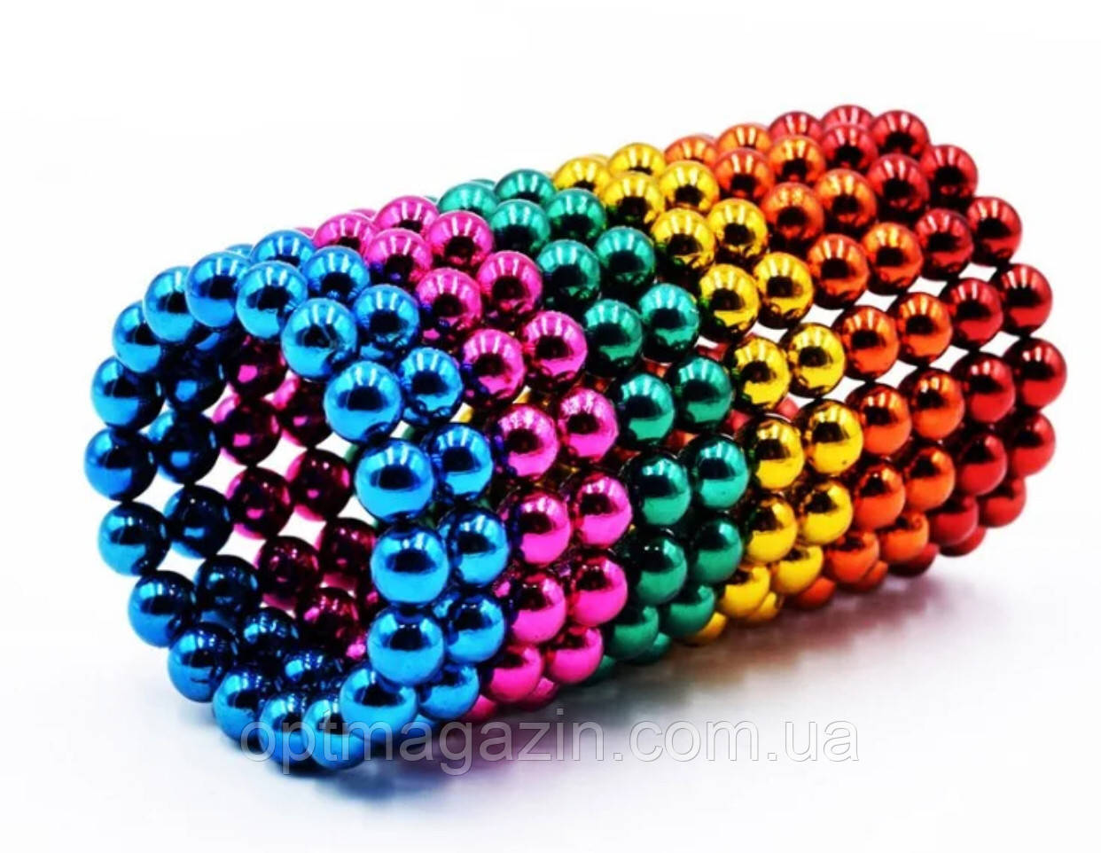 Нєо Куб 5мм кольоровий, Магнітні кульки, Магнітний неокуб, Головоломка
