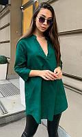 Блуза 53056/2 42/44 зеленый
