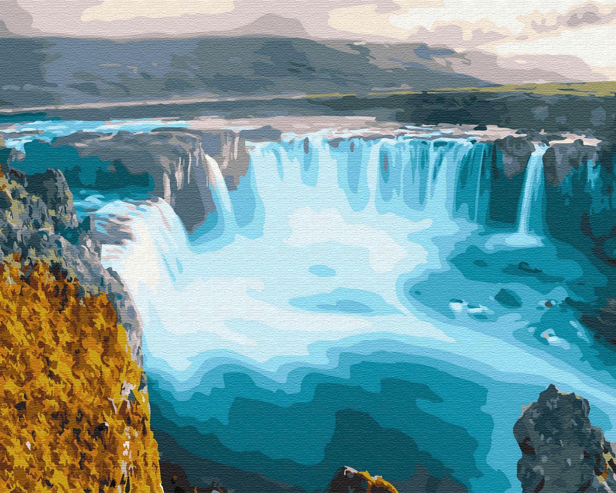Картина по номерам Ниагарский водопад 30653 40*50