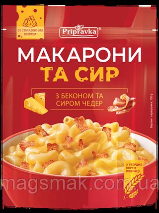 Макароны Приправка с беконом и сыром Чеддер 150 г, фото 2
