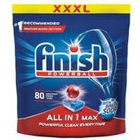 Таблетки для посудомоечных машин Финиш Сода Все в одном Finish Soda All in one 80 шт.