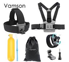 Набір аксесуарів Vamson для екшн-камер Gopro Hero 6 5 4 3, SJCAM, Xiaomi Yi VS18