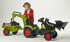 Трактор педальный с двумя ковшами Claas Arion Falk 2040N, фото 2