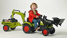 Трактор педальный с двумя ковшами Claas Arion Falk 2040N, фото 3