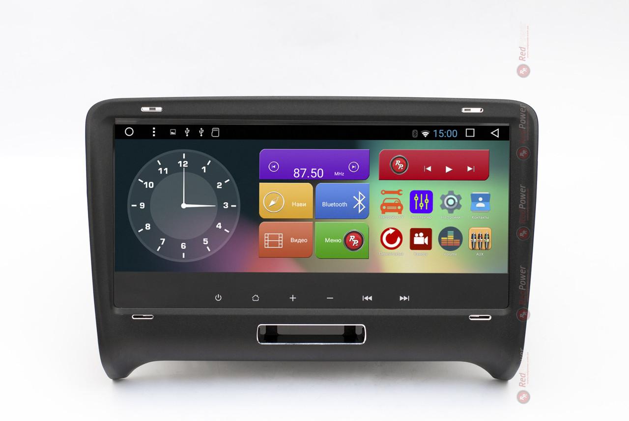 Штатная автомагнитола для Audi TT (8J) (2003-2014) на Android 7.1.1 (Nougat) RedPower 31048 IPS DSP
