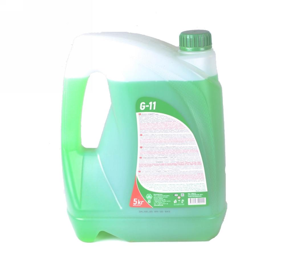 Антифриз SIBIRIA ANTIFREEZE ОЖ-40 G11 (зелений) 5кг (арт. 363)