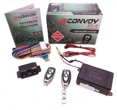 Автомобильная сигнализация с односторонней связью Convoy XS-4