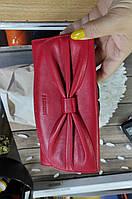 Гаманець шкіряний червоний бант Prensiti 42002, фото 1