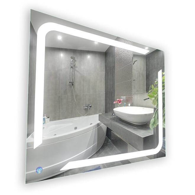 Зеркало LED (100*100*2,5см) VZ-AL-D73 с сенсором