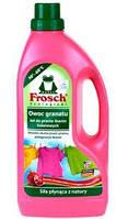 Жидкий порошок Фрош для стирки цветных тканей с ароматом граната Frosch Owoc Granatu Color 1500 мл