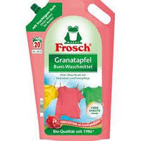 Жидкий порошок Фрош для стирки с экстрактом Граната Frosch Owoc Granatu 1800 мл