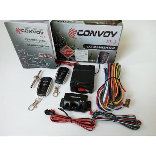 Автосигнализация с односторонней связью Convoy XS-3