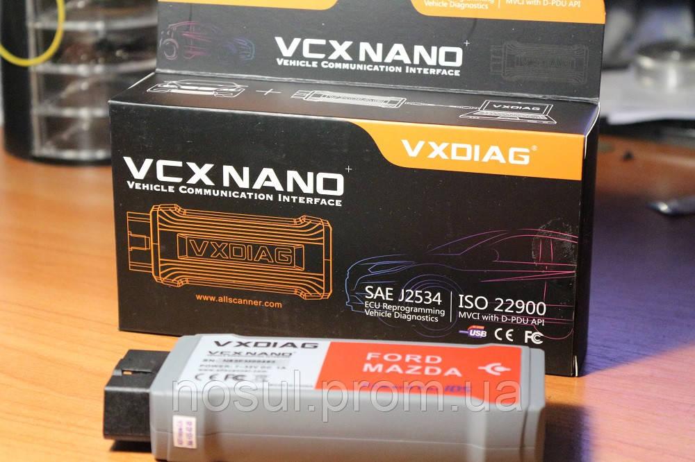 Диагностический интерфейс AllScanner VXDIAG VCX Nano VCM IDS v102 FORD MAZDA xdiag калибровки