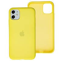 Чехол Silicone Case Full для iPhone 12 / 12 Pro flash