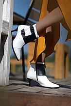 Зимние ботинки на шпильке