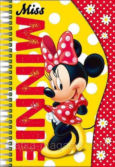 """Блокнот для записей """"Minnie Mouse"""" 50 л. Disney"""