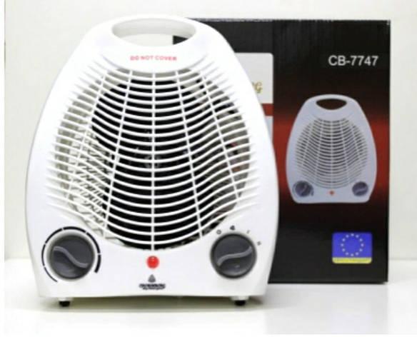 Тепловентилятор електричний Crownberg CB-7747, фото 2