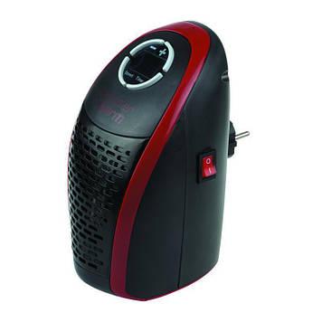 Портативный тепловентилятор Wonder Warm 400 Вт, термостат + таймер, светодиодный экран Черный (46-978344934)