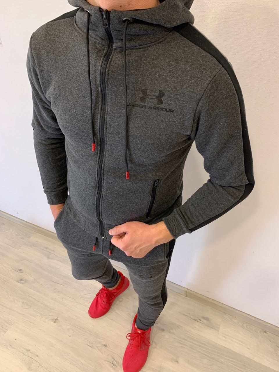 Утепленный мужской спортивный костюм Bilberry Grey Winter