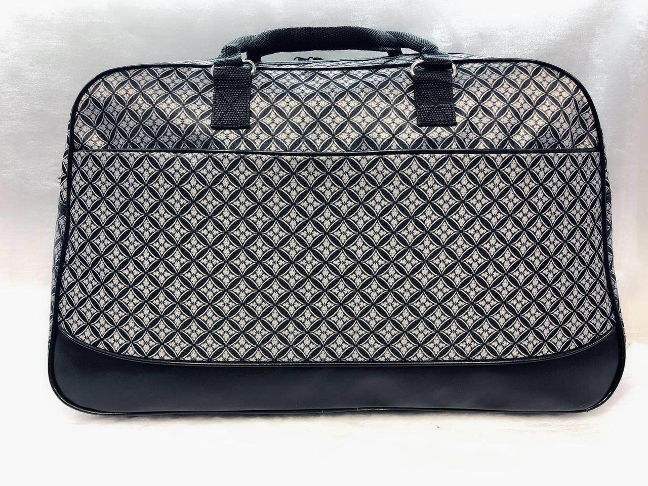 Дорожная женская сумка-саквояж