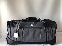 Дорожная сумка на колесах средняя прочная для путешествий