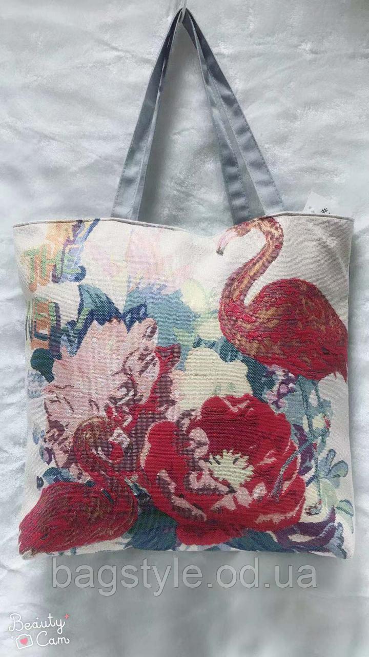 Молодіжна літня пляжна сумка для шопінгу і покупок