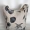 Тканевая(льняная) пляжная сумка морская тематика, фото 2