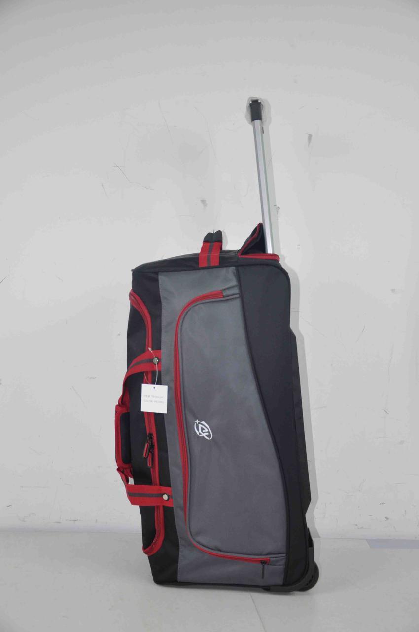 Большая дорожная сумка на колесах качественная прочная