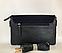 Женская замшевая сумочка-клатч с плечевым ремнем темно-синяя Pretty Woman, фото 2