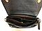 Женская замшевая сумочка-клатч с плечевым ремнем темно-синяя Pretty Woman, фото 3
