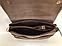 Молодіжна міні сумочка клатч замшевий через плече кавового кольору Pretty Woman, фото 2