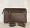 Молодіжна міні сумочка клатч замшевий через плече кавового кольору Pretty Woman, фото 3