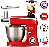 Кухонна машина DMS 3в1 2200w RED, фото 6
