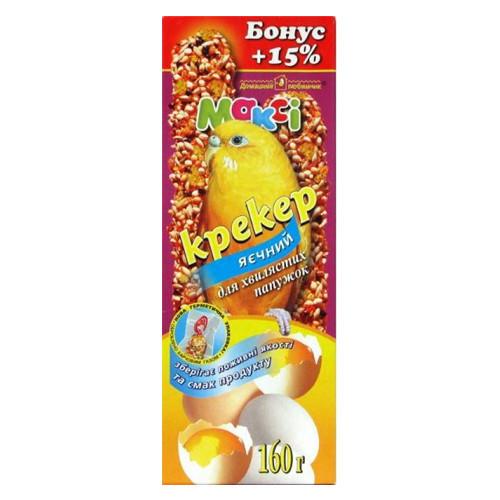 Макси крекер для волнистых попугаев яичный бонус +15%