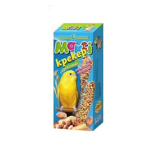 Макси крекер для волнистых попугаев микс (6 вкусов в упаковке)