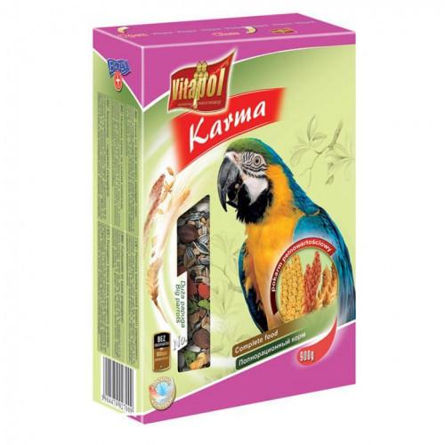 KARMEO Полнорационный Премииум корм для Крупных Попугаев 2.5 кг/пакет