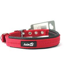Ошейник AnimAll для собак M красный