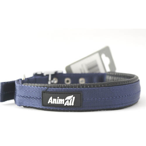Ошейник AnimAll для собак L синий