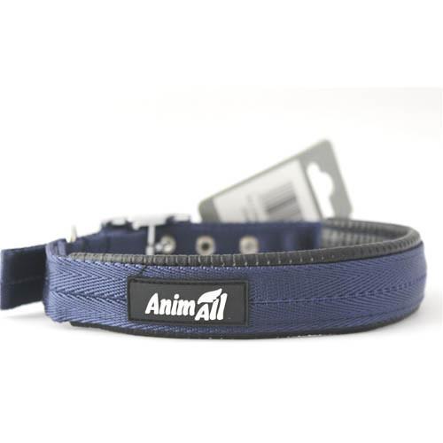 Ошейник AnimAll для собак M синий