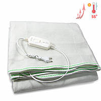 Согревающая электрическая простынь двуспальная Warm Blanket электро грелка электропростынь покрывало с чехлом
