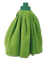 """Насадка для швабры Eco Fabric МОП """"юбочка"""" из  микрофибры 120г, зеленый"""