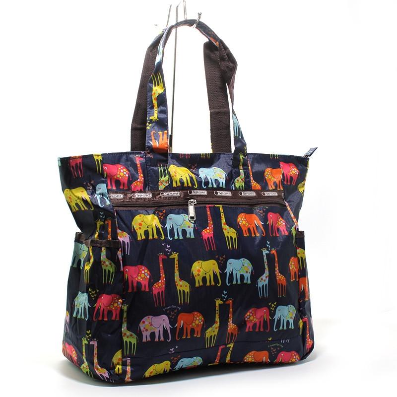 Господарська Сумка, шоппер текстильна тварини LeSportsаc 9802-2