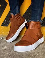 Мужские ботинки Chekich CH023 St Brown, фото 1